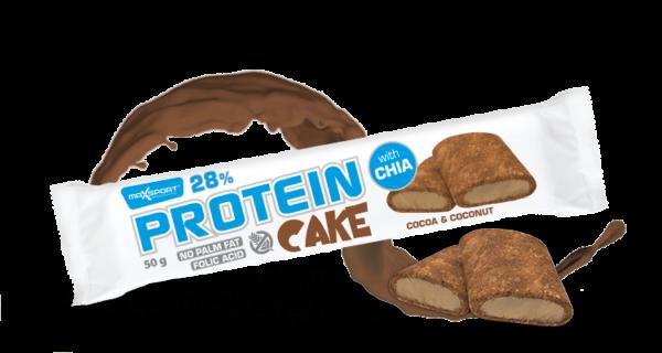 Max Sport Proteín Cake Kakao a Kokos 50 g