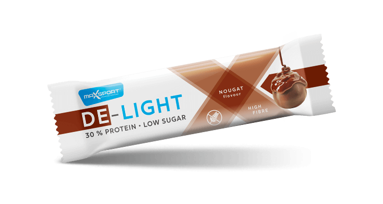 Levně Max Sport De-Light Nugát 45 g
