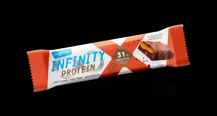 Levně Max Sport Infinity Protein Čokoláada a Lískový oříšek 55 g
