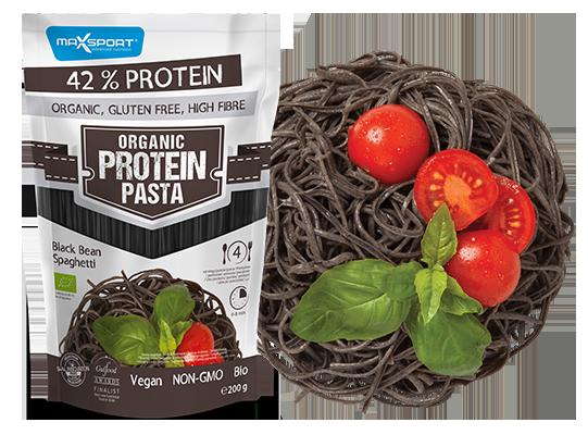 Levně Max Sport Organické špagety z černých fazolí 200 g