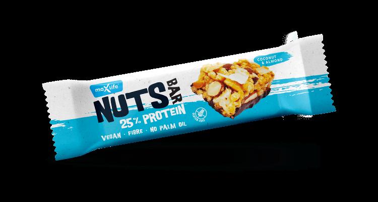 Levně Max Sport Nuts Protein Kokos & mandle 40 g