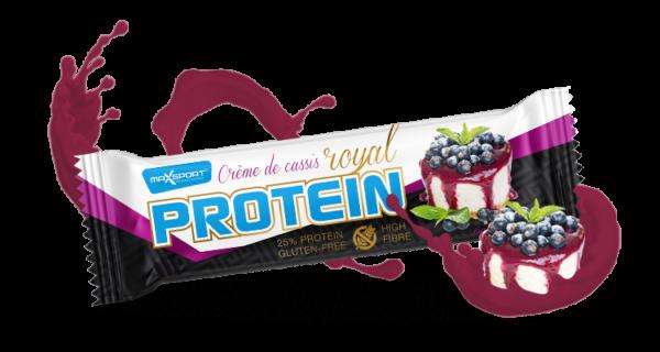 Levně Max Sport Royal Proteín Bar Crème de Cassis 60 g