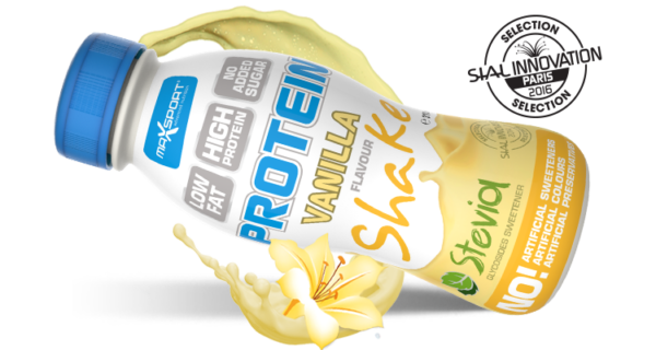 Levně Max Sport Proteín Shake Vanilka 310ml g